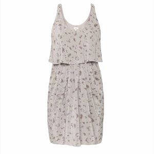 Aritzia Babaton Ronnie Animal Print Silk Dress